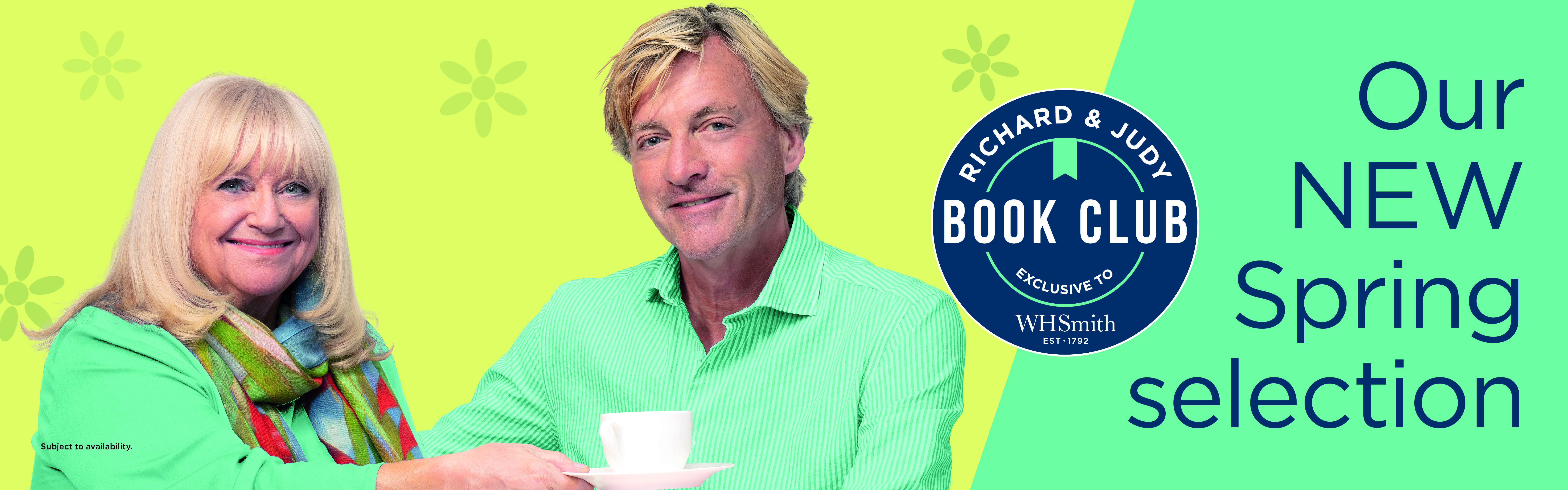 The Richard and Judy Spring Book Club 2021