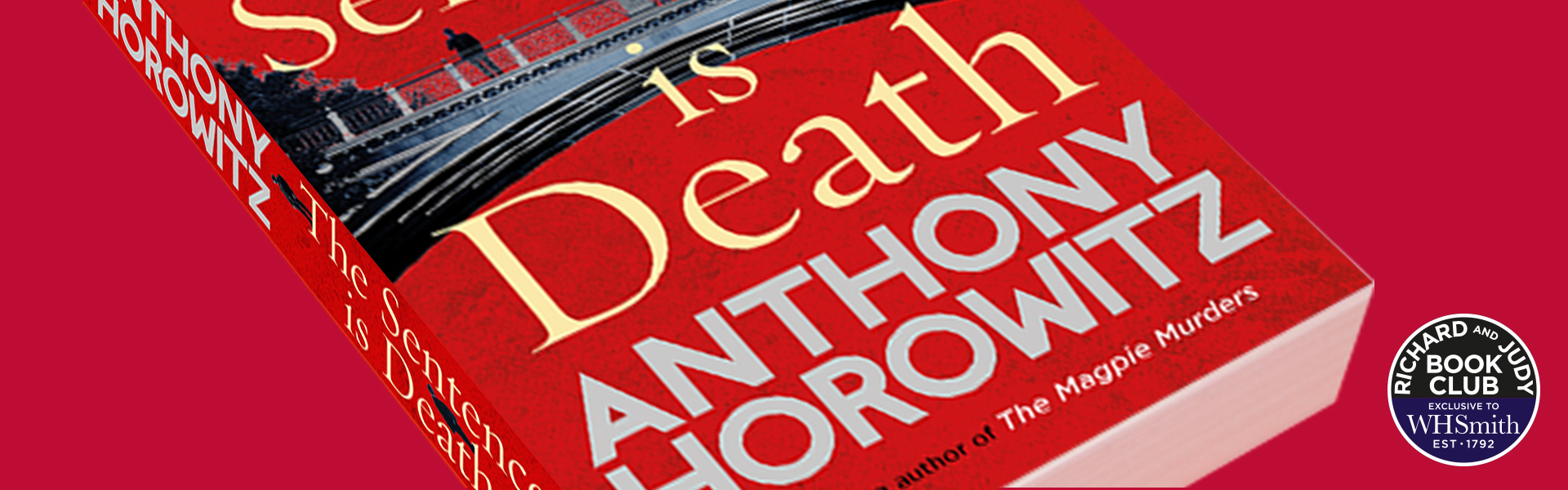 Richard and Judy Introduce The Sentence is Death by Anthony Horowitz