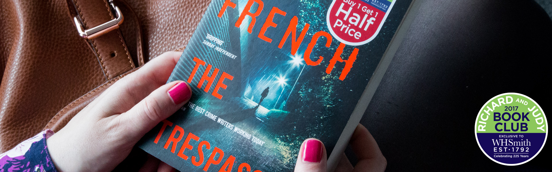 Richard and Judy Introduce The Trespasser by Tana French