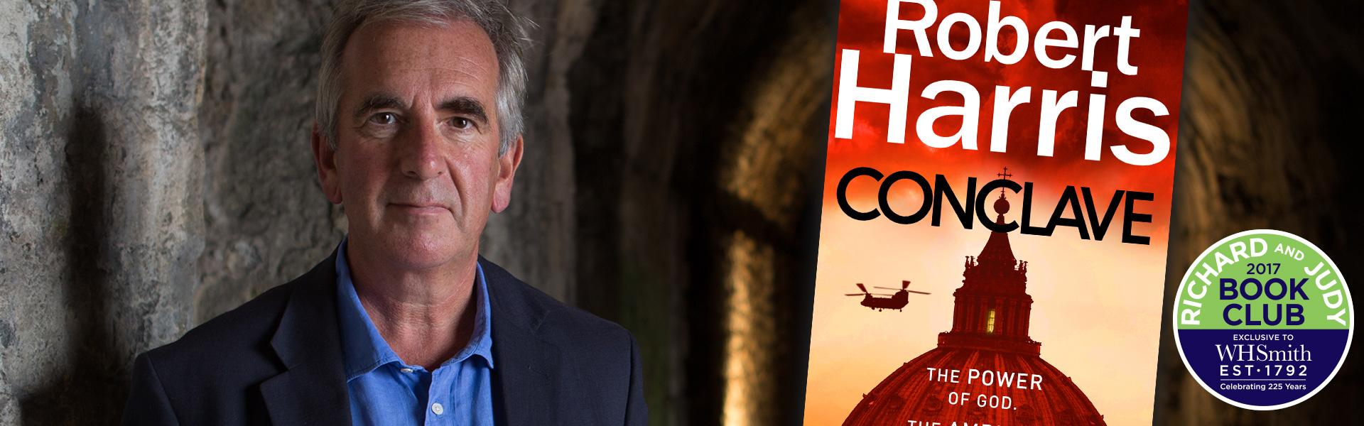 Robert Harris: Getting into the Head of a Cardinal