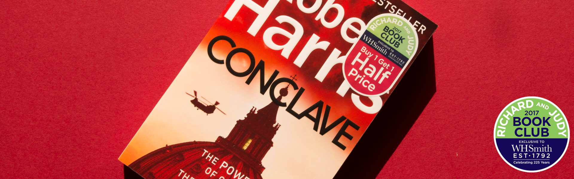 Richard and Judy Introduce Conclave by Robert Harris