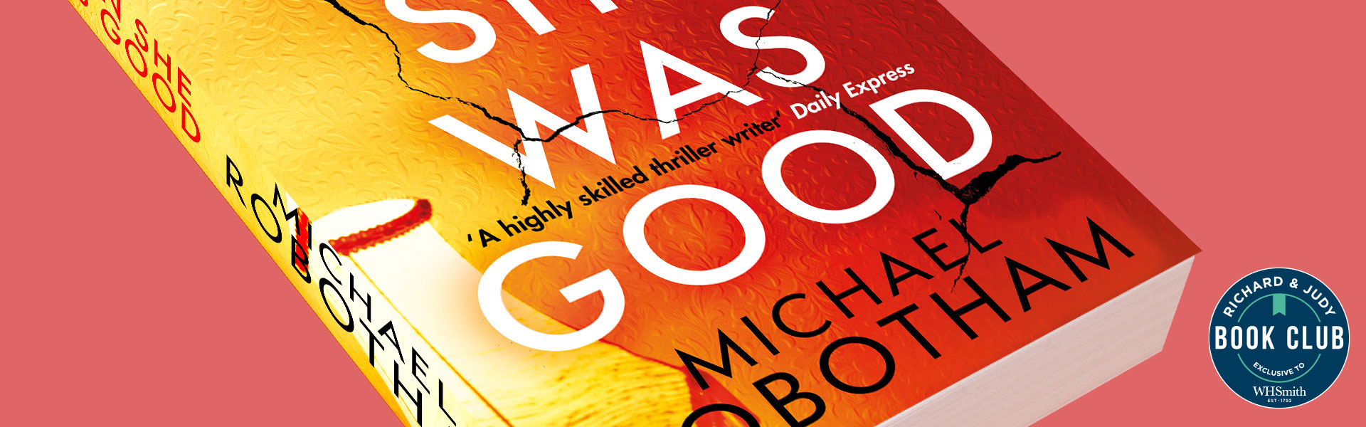 Richard & Judy Introduce When She Was Good by Michael Robotham