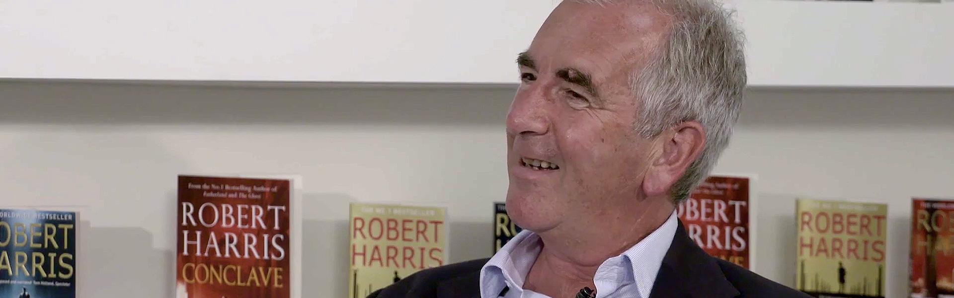 Robert Harris Discusses Truth vs. Fiction