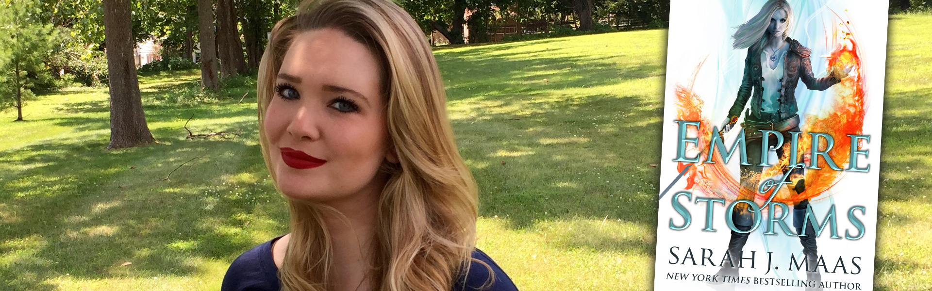 Sarah J Maas: An Exclusive Interview on Empire of Storms