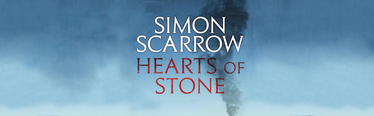 Simon Scarrow Hearts of Stone Competition – Win a Kobo Glo HD