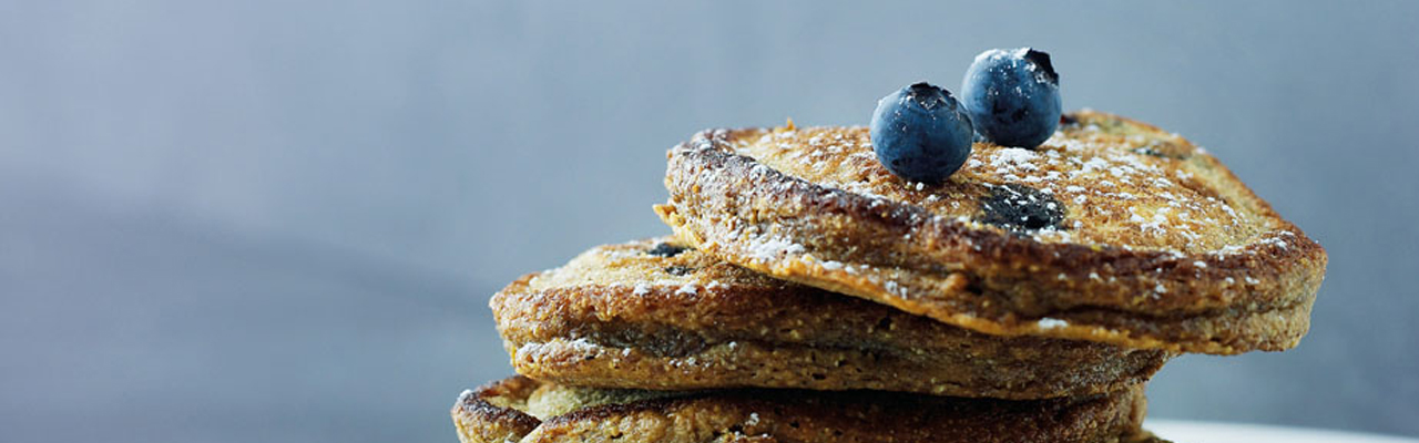 Trine Hanhemann: Spelt Pancakes with Blueberries Recipe