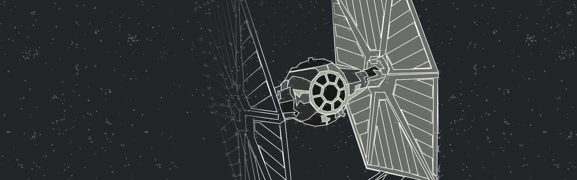 Star Wars Dot-to-Dot Free Pattern Download