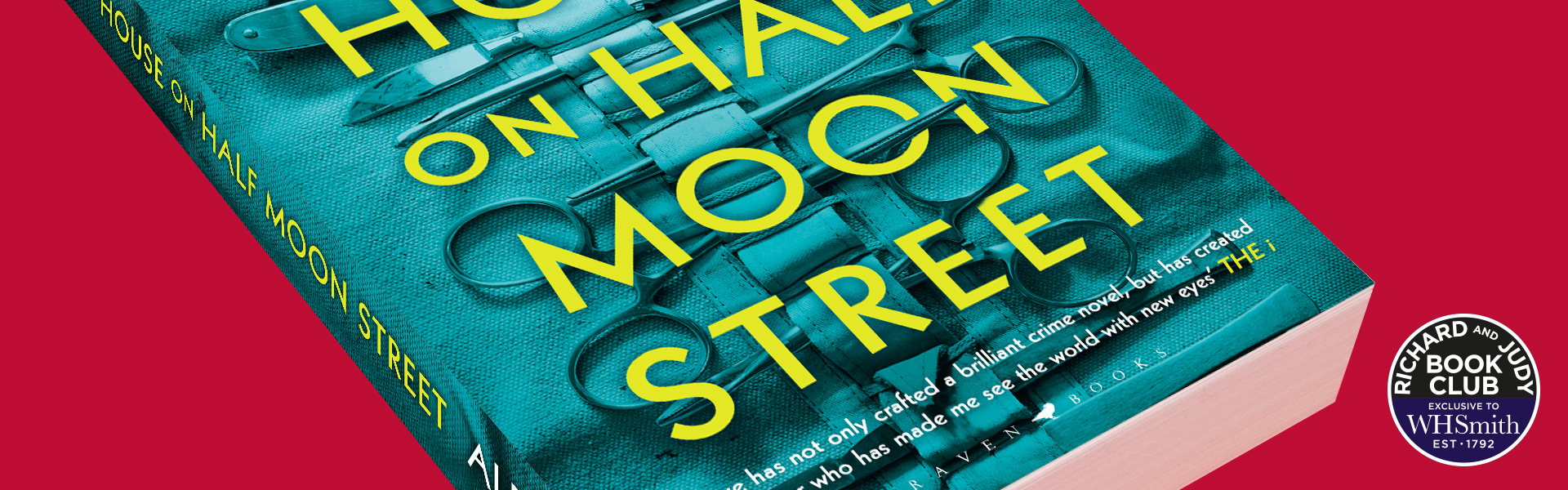 Richard And Judy Introduce The House on Half Moon Street by Alex Reeve