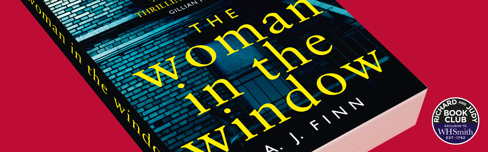 Richard And Judy Introduce The Woman in the Window by A J Finn
