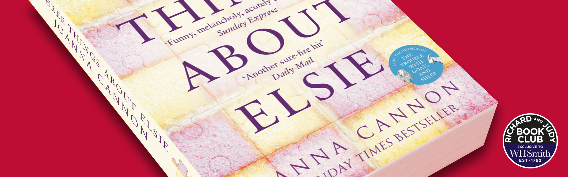 Richard and Judy Introduce Three Things About Elsie By Joanna Cannon