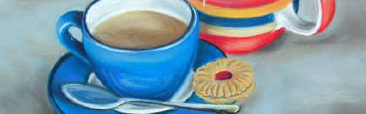 Tiffany Budd: Still Life Art Using Derwent Pastels