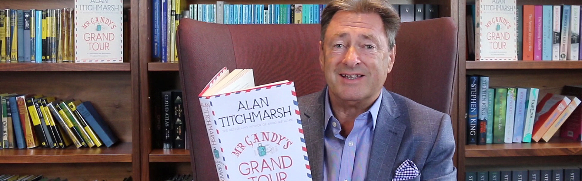 Exclusive Video! Alan Titchmarsh Reads an Extract from Mr Gandy's Grand Tour