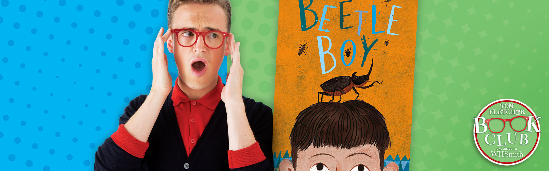Tom Fletcher Book Club: Beetle Boy by M. G. Leonard