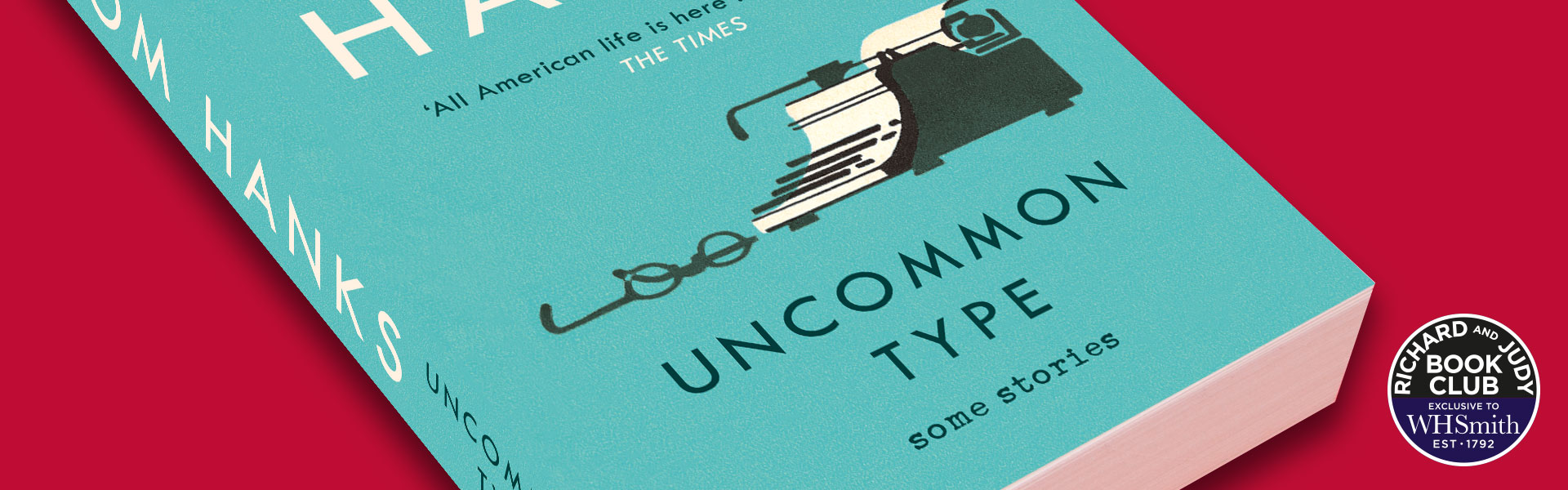 Richard And Judy Introduce Uncommon Type: Some Stories By Tom Hanks
