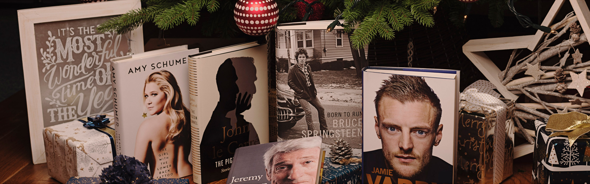 Our Christmas Top Picks: Autobiographies and Biographies 2016