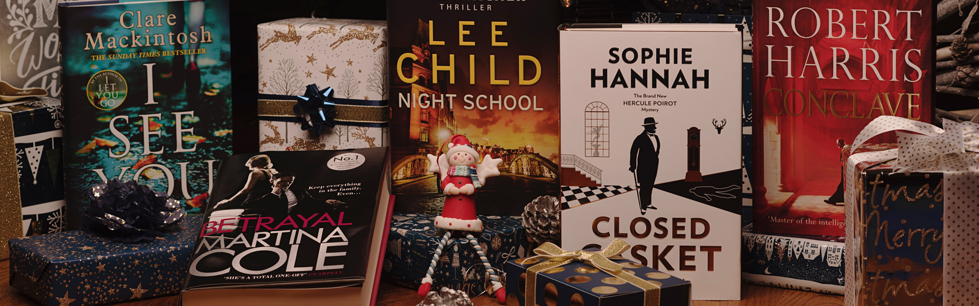 Our Christmas Top Picks: Crime and Thriller Books