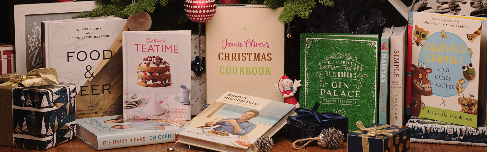 Our Christmas Top Picks: Food, Drink and Cookery Books