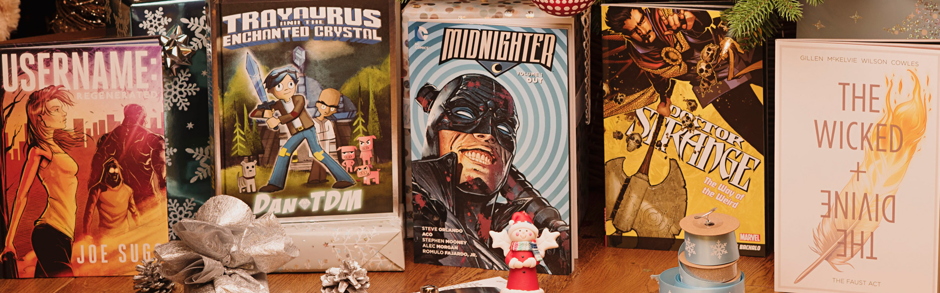 Our Christmas Top Picks: Graphic Novels