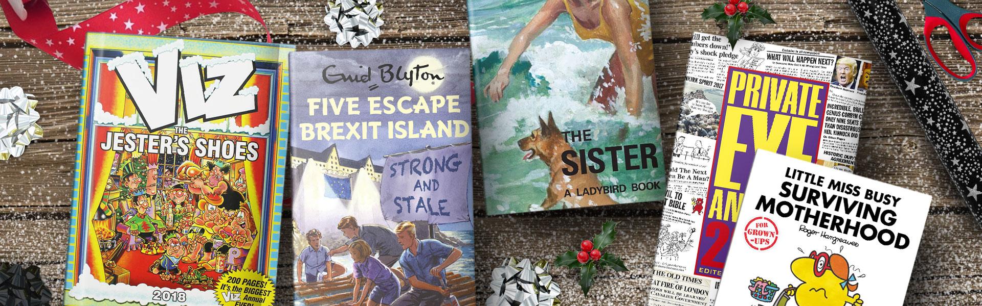 Our Christmas Top Picks: Humour Books