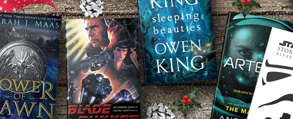 Our Christmas Top Picks: Sci-Fi and Fantasy Books
