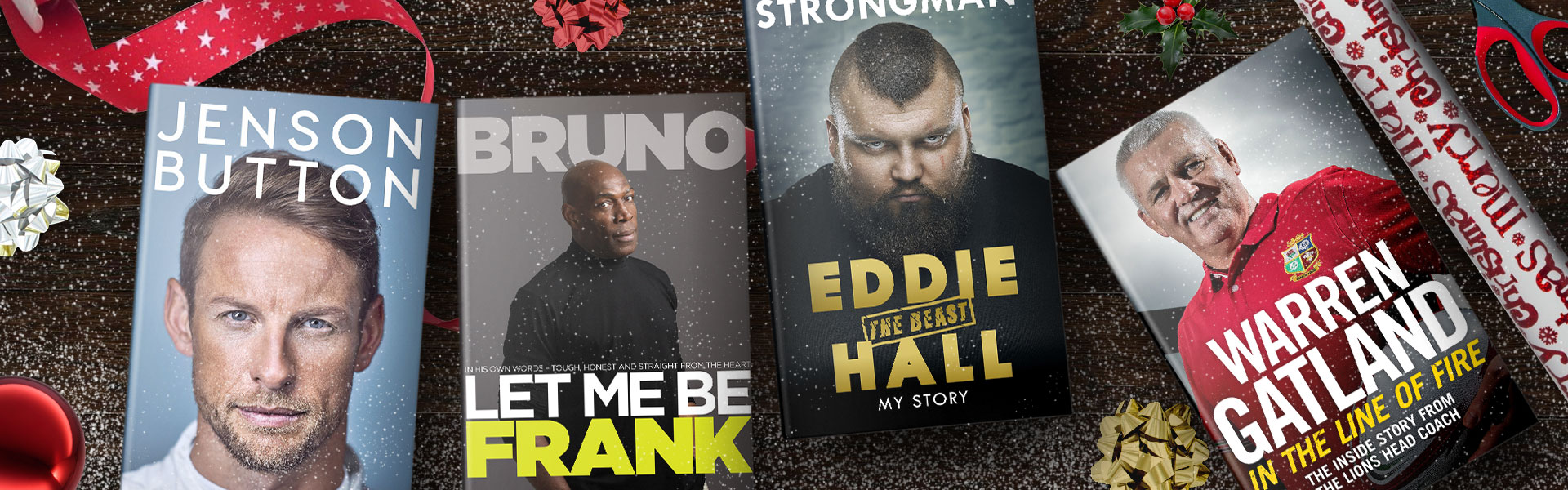 Our Christmas Top Picks: Sports Books