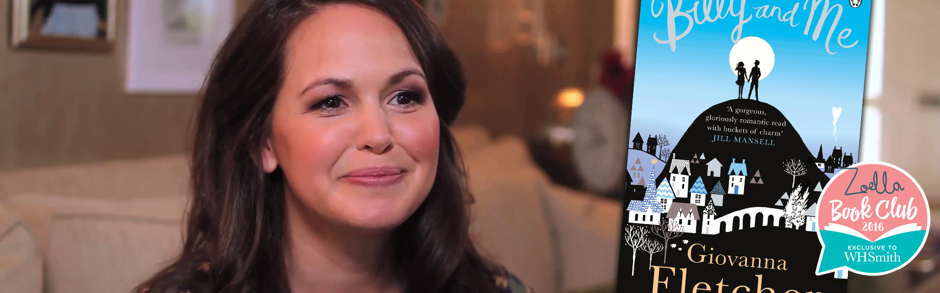 Exclusive Video! Q&A with Giovanna Fletcher on Billy and Me