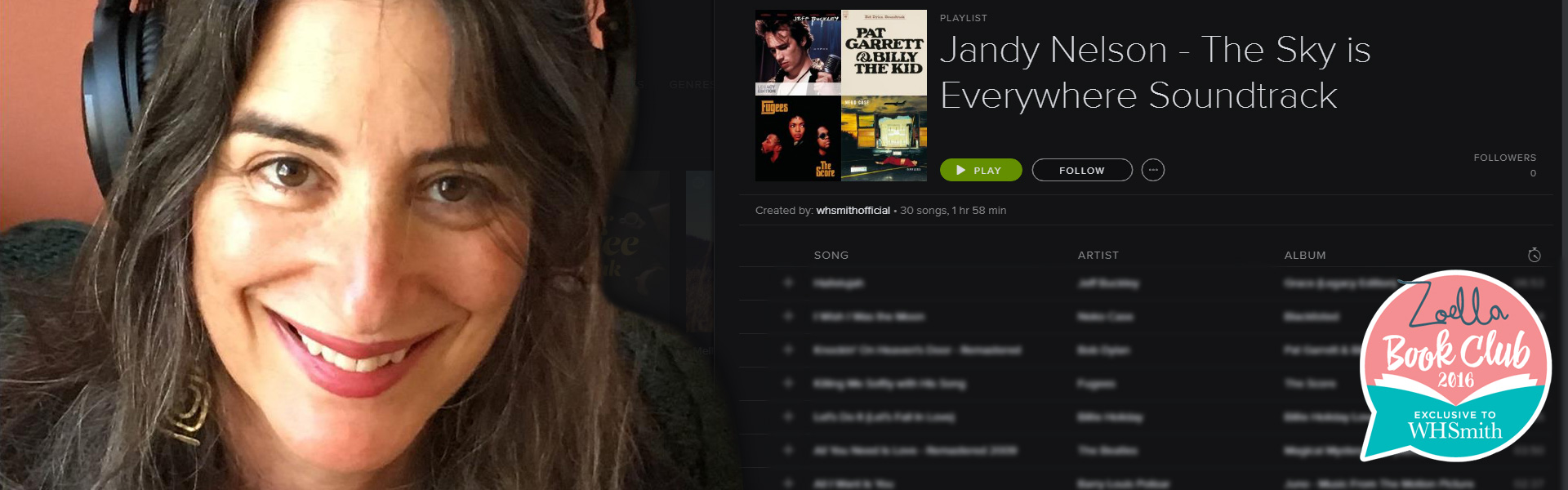 Jandy Nelson: The Sky is Everywhere Soundtrack