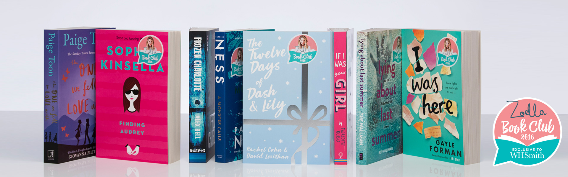 Vote Now For Your Zoella Book Club Autumn 2016 WINNER!