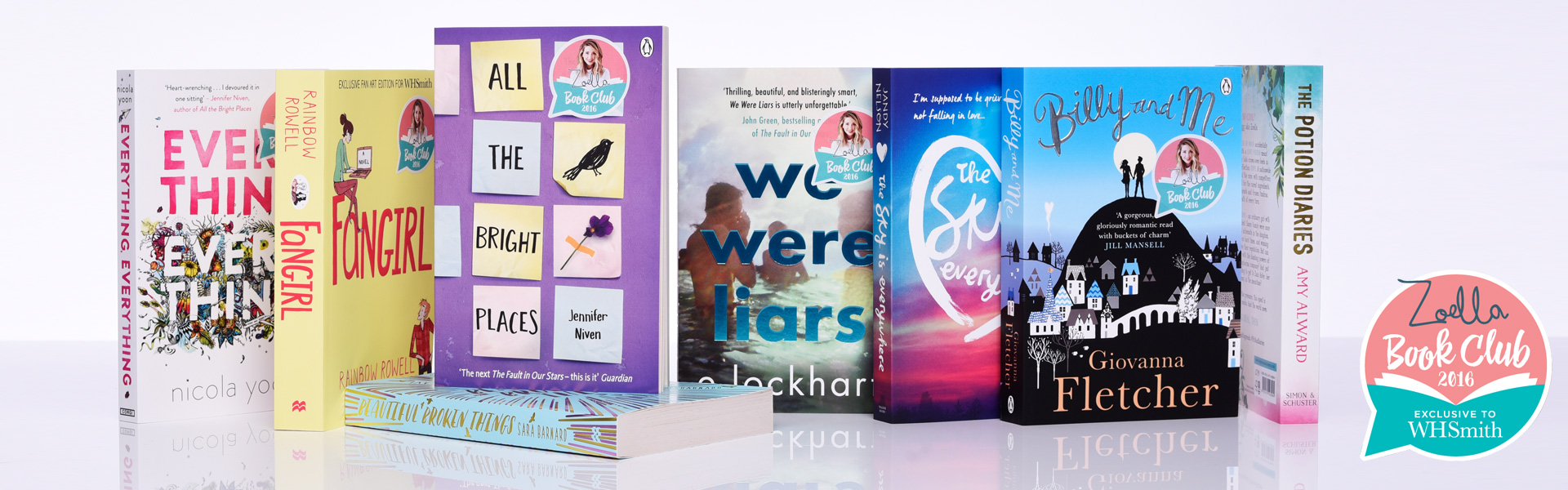 Vote Now For Your Zoella Book Club 2016 WINNER!