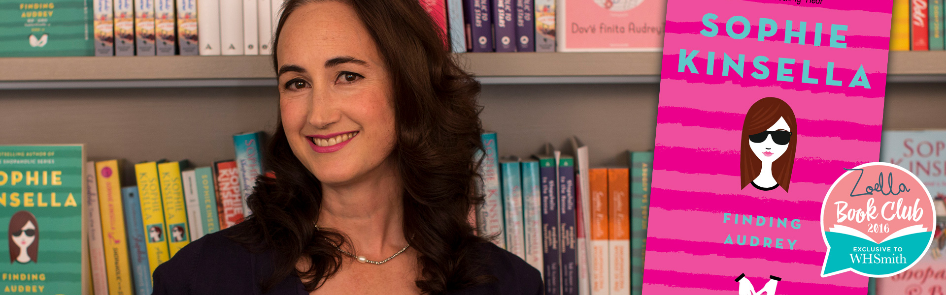 Exclusive Video! Sophie Kinsella's Favourite Scene from Finding Audrey