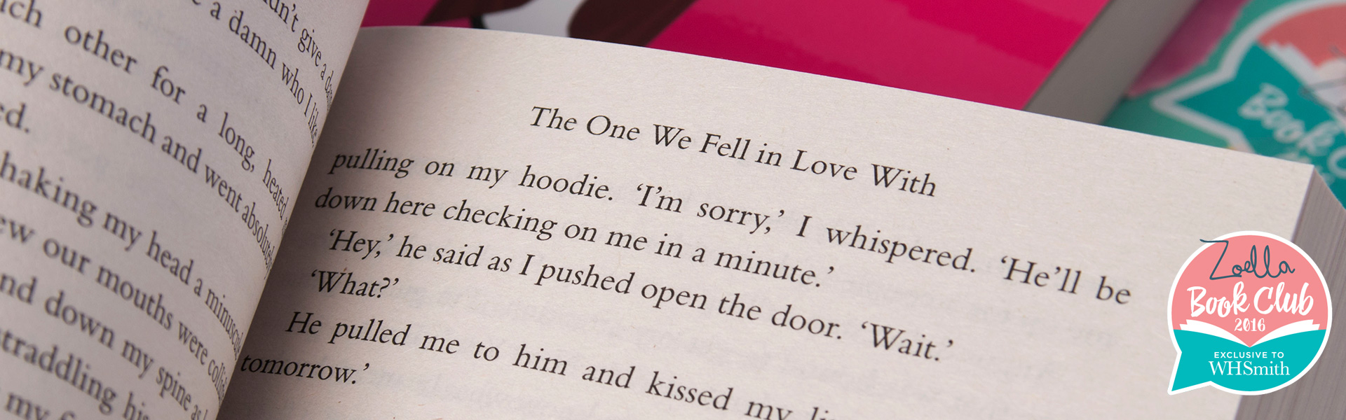 Read an Extract from The One We Fell in Love With by Paige Toon