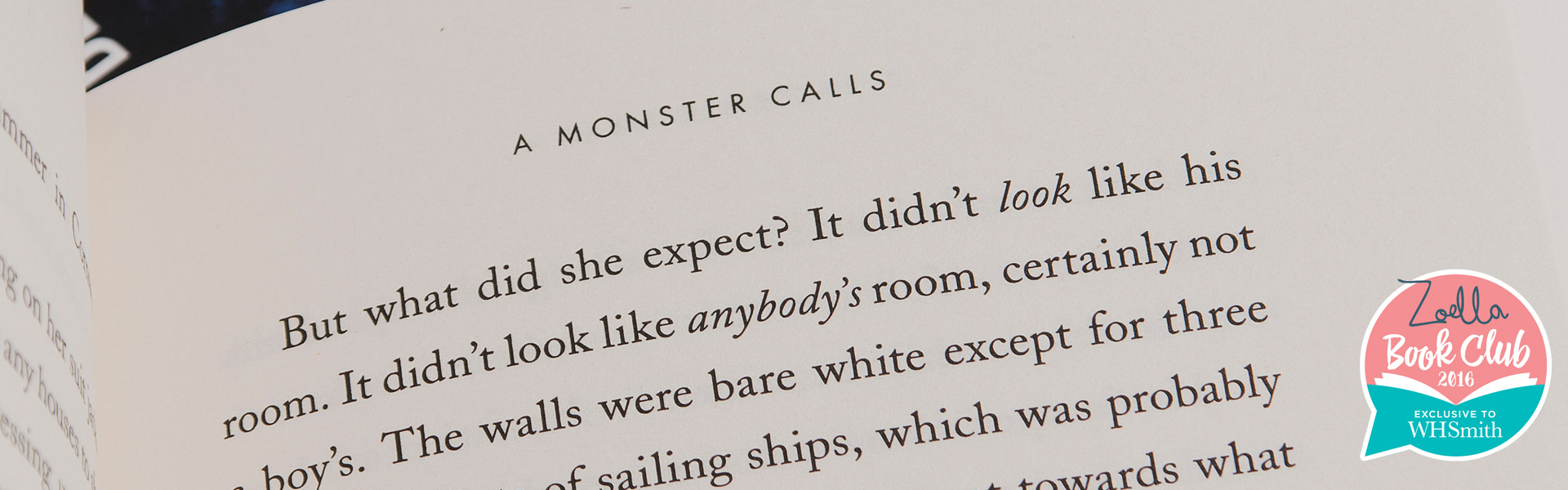 Read an Extract from A Monster Calls by Patrick Ness - WHSmith Blog