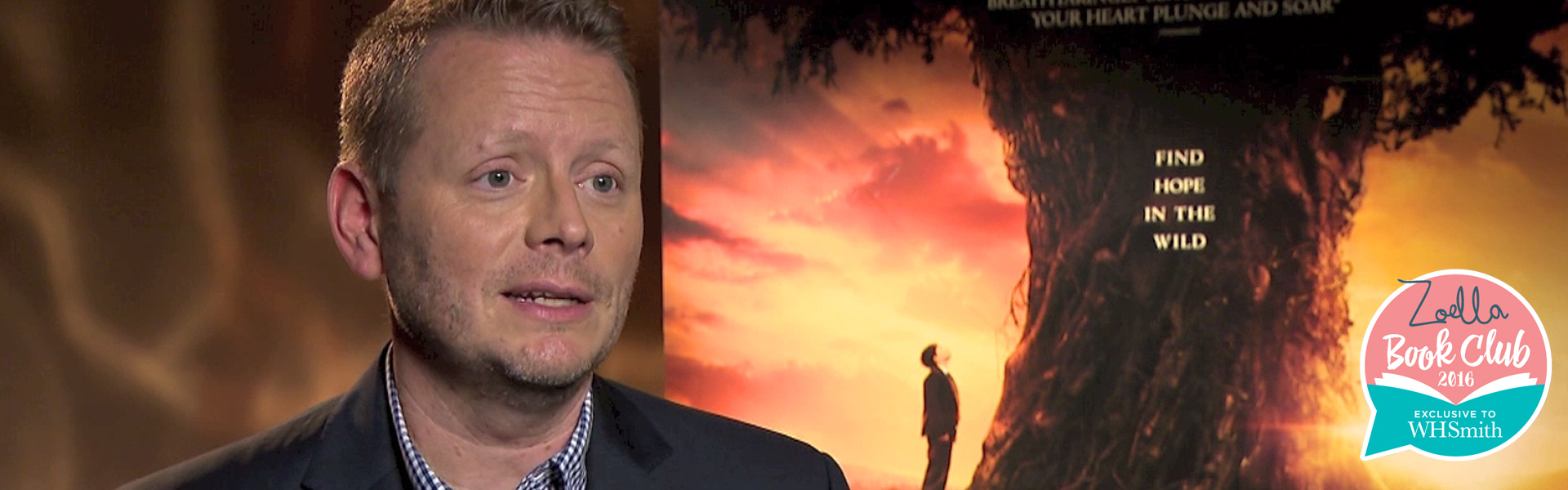 Exclusive Video! Quickfire Questions with Patrick Ness