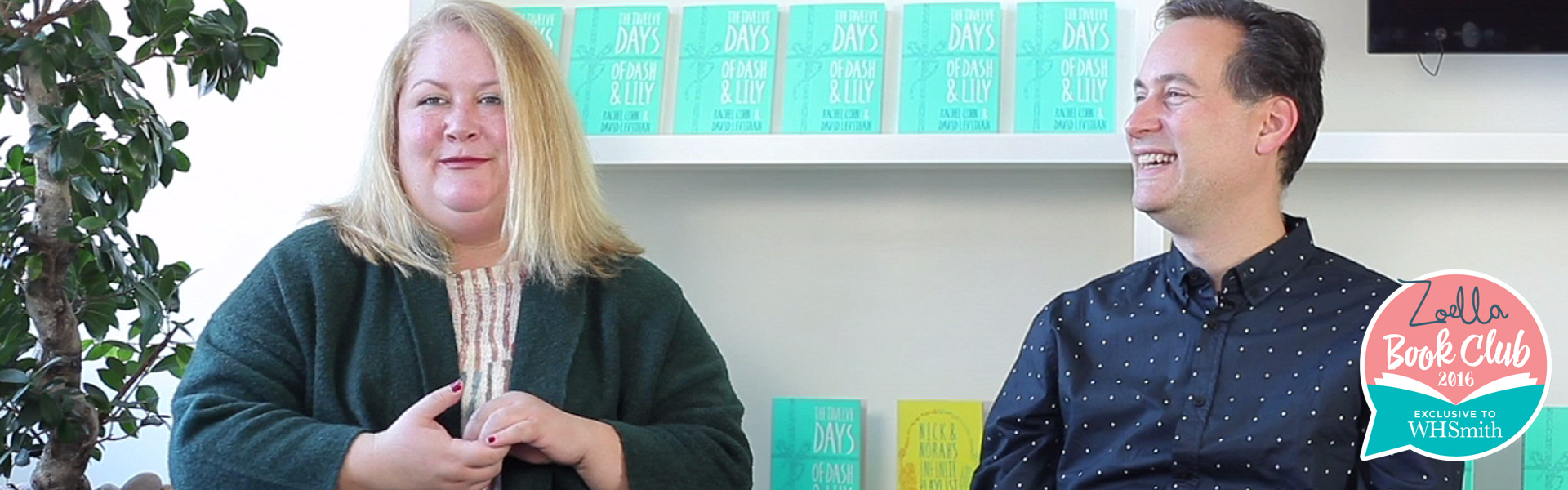 Rachel Cohn and David Levithan: An Exclusive Interview on The Twelve Days of Dash and Lily
