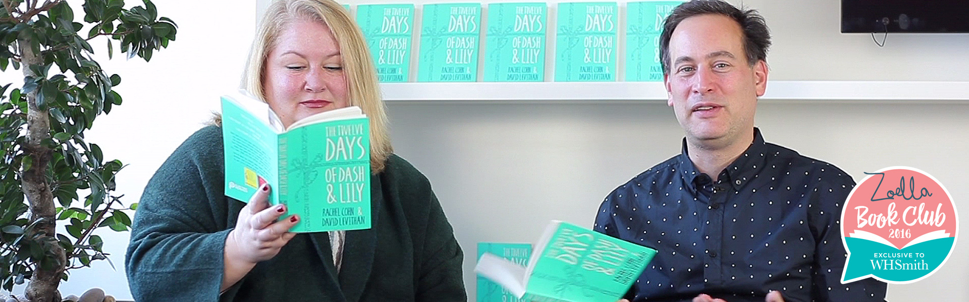 Exclusive Video! Rachel Cohn and David Levithan Discuss The Twelve Days of Dash and Lily