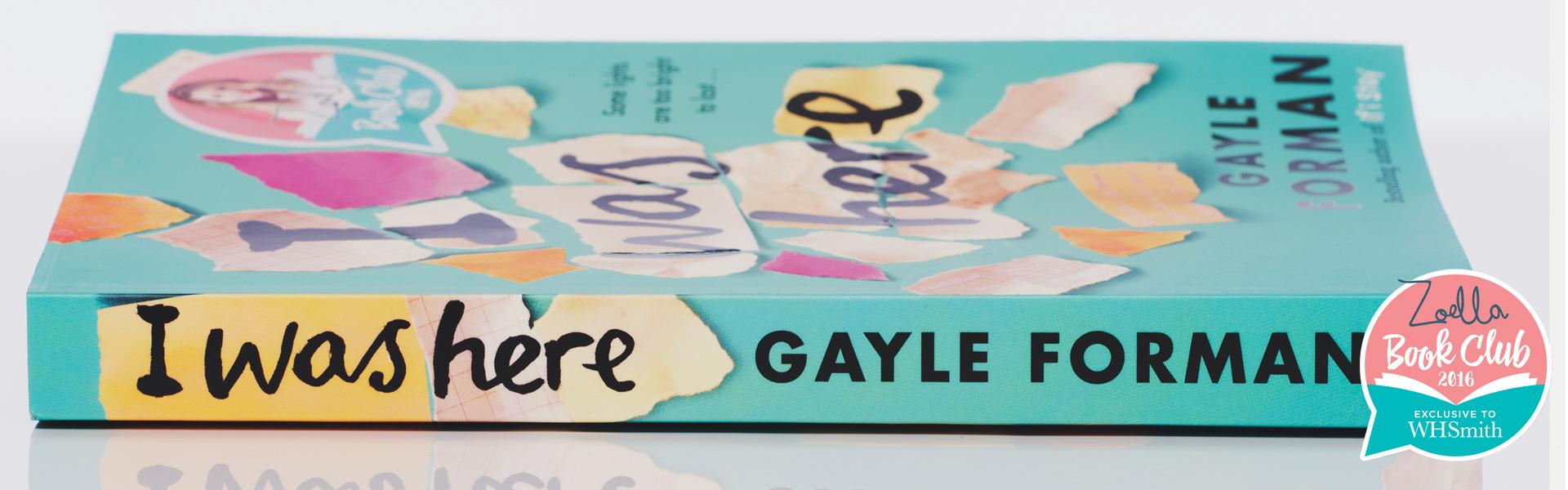 Gayle Forman: Getting to Know Suzy Gonzalez