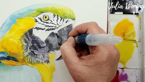 Derwent Inktense Paint Pan Set
