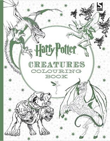 picture about Printable Cornish Pixies titled Harry Potter Magical Creatures Colouring Compeion