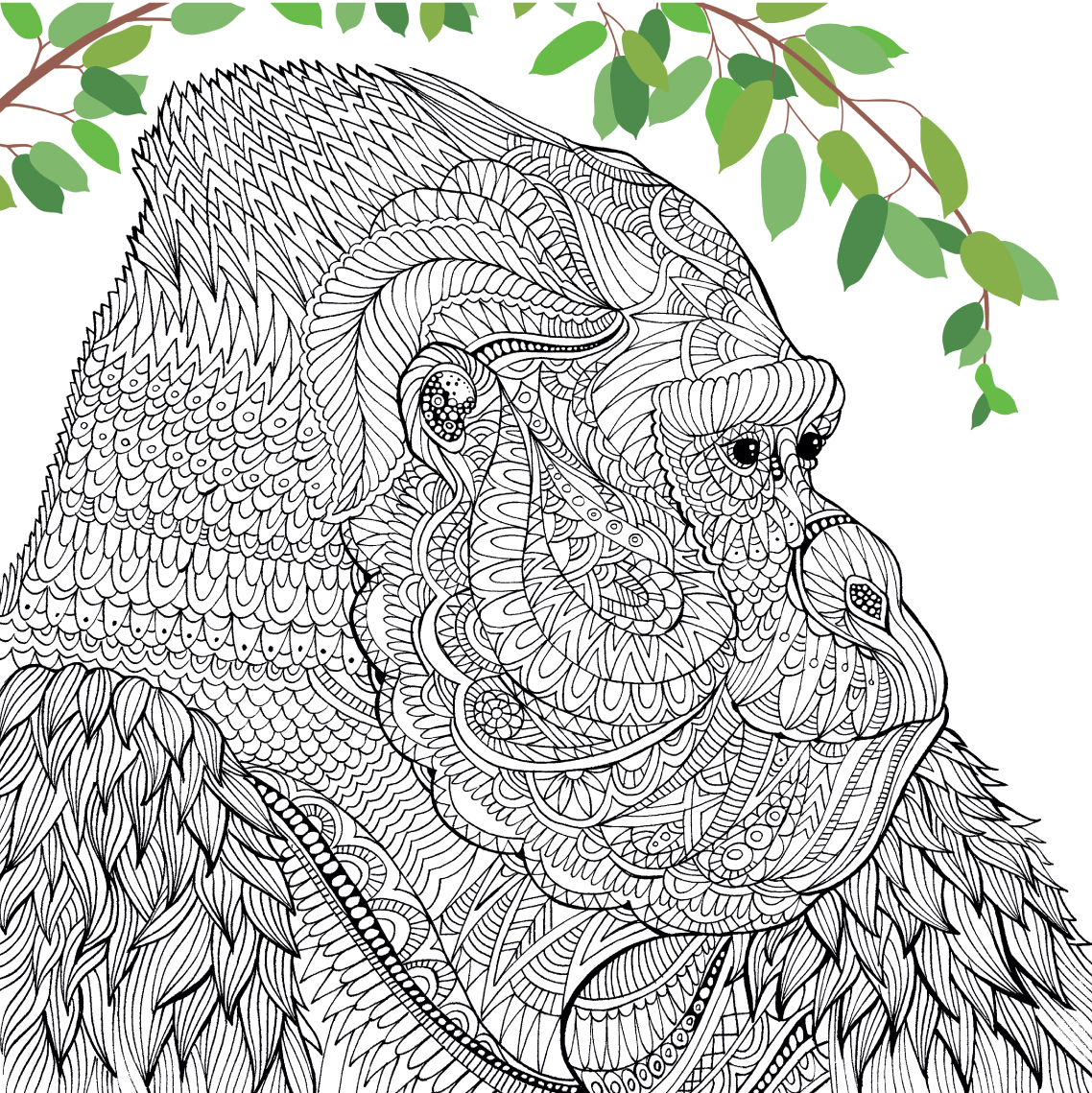 Collouring: 1000+ Images About Adult Coloring Pages\ Animals On