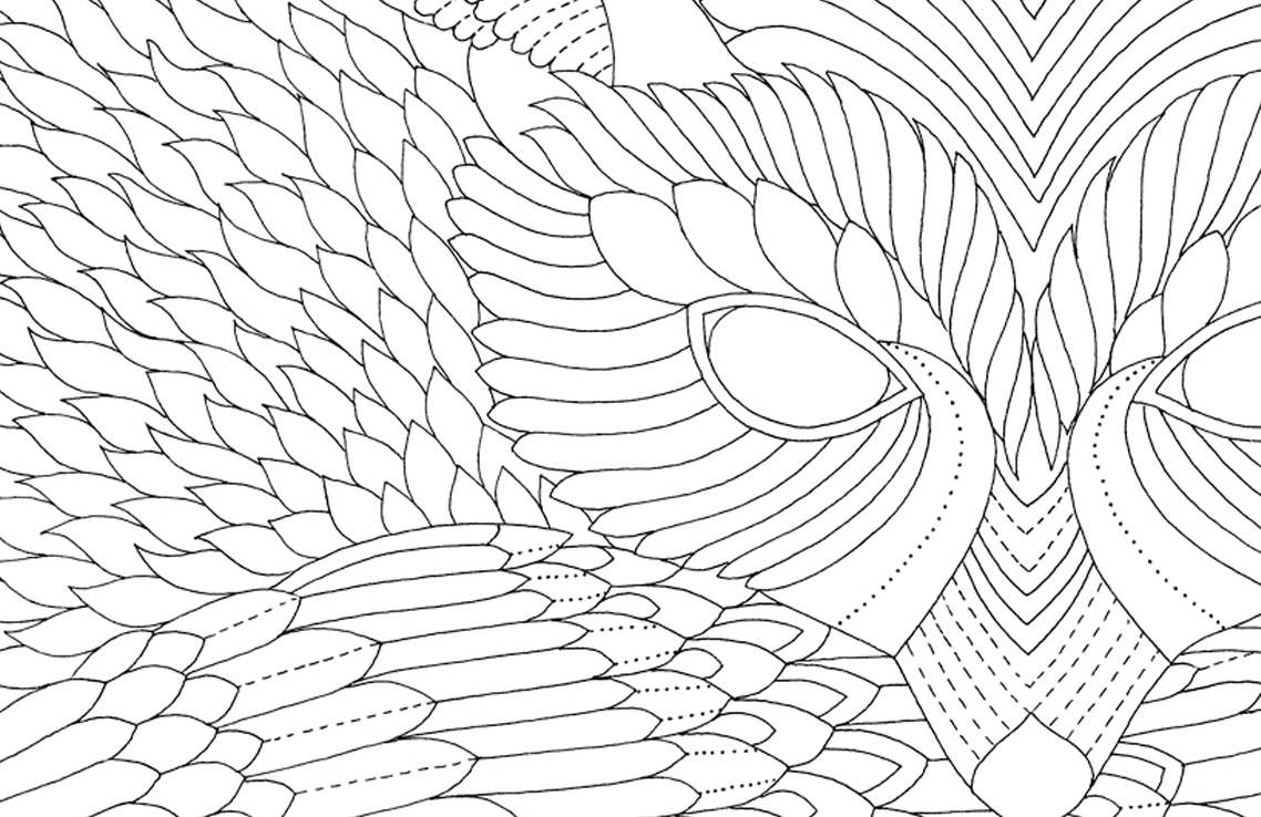 Millies Work Has Fuelled The Rediscovered Art Of Colouring In And Her Latest Book Will Satisfy Biggest Fans Gain Some More