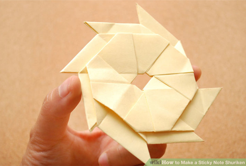 Origami flower with post it notes psychologyarticlesfo origami flower with post it notes mightylinksfo