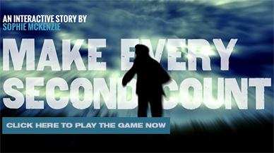 Play Sophie McKenzie's Interactive Game - Every Second Counts