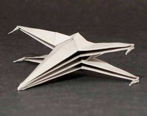 star wars origami may the folds be with you whsmith blog