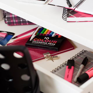 Neon Back to School Stationery