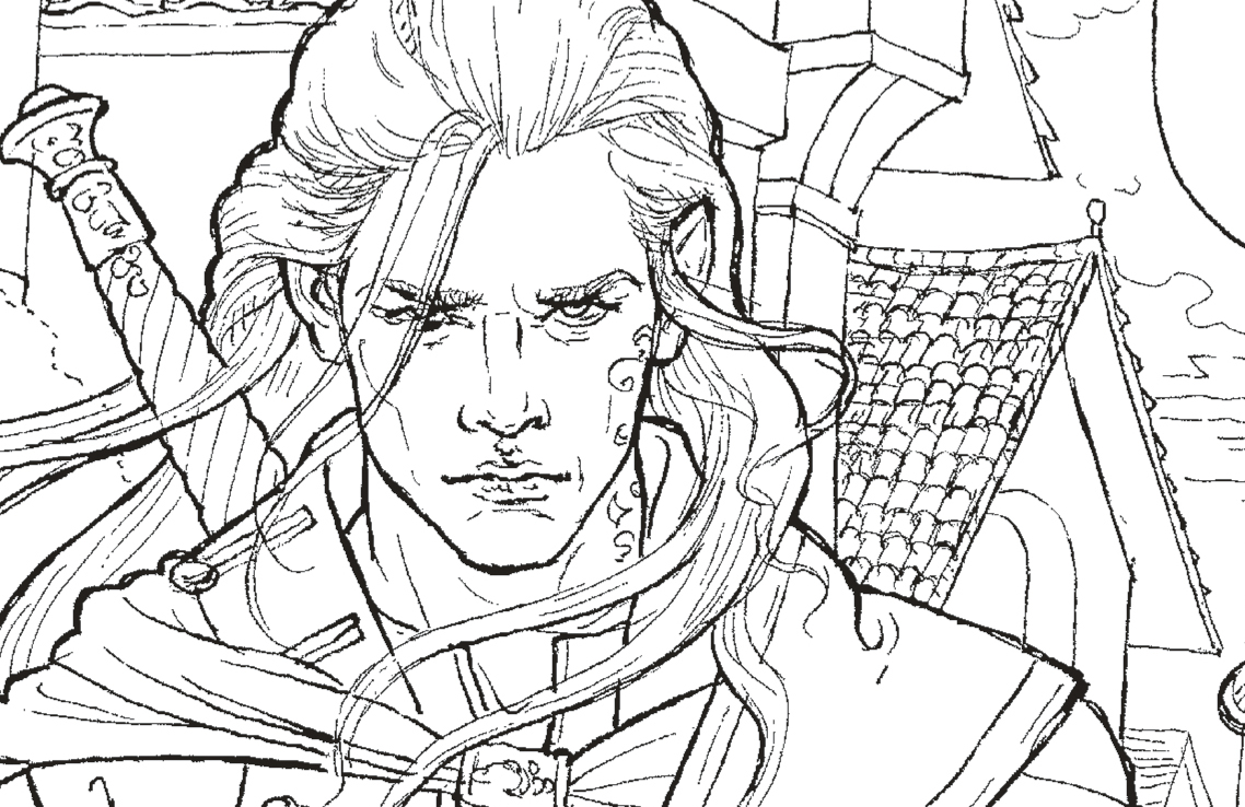 The Throne Of Glass Colouring Book Free Pattern Download Whsmith Blog