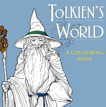This is an image of Impertinent Tolkiens World Coloring Book