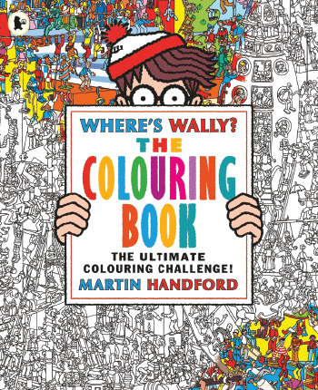 Where S Wally Free Colouring Pattern Download Whsmith Blog